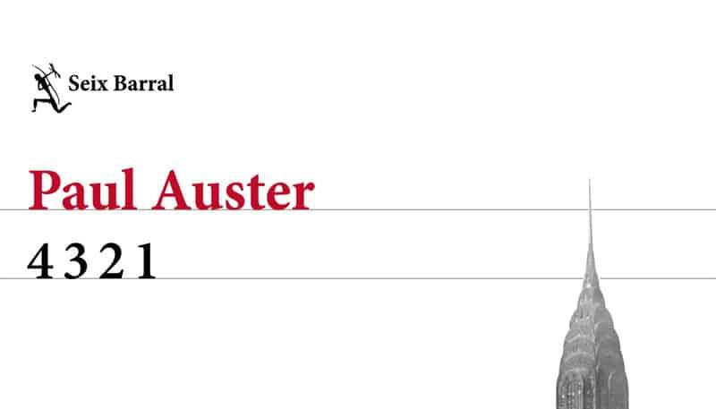 """Entrevista a Paul Auster: habla de """"4 3 2 1"""", su más reciente novela."""